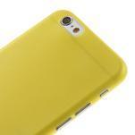 Ultra slim 0.3 mm plastové pouzdro na iPhone 6, 4.7  - žluté - 3/5