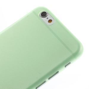 Ultra slim 0.3 mm plastové pouzdro na iPhone 6, 4.7  - zelené - 3