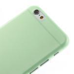 Ultra slim 0.3 mm plastové pouzdro na iPhone 6, 4.7  - zelené - 3/5