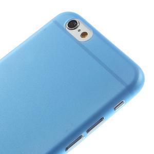 Ultra slim 0.3 mm plastové pouzdro na iPhone 6, 4.7  - modré - 3