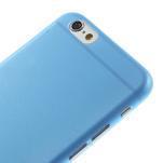 Ultra slim 0.3 mm plastové pouzdro na iPhone 6, 4.7  - modré - 3/5