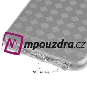 Gelové koskované pouzdro na iPhone 6, 4.7 - šedé - 3