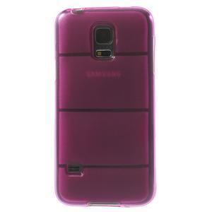 Gelové pouzdro na Samsung Galaxy S5 mini G-800- vesta růžová - 3