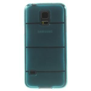 Gelové pouzdro na Samsung Galaxy S5 mini G-800- vesta světlemodrá - 3