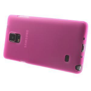 Gelové pouzdro na Samsung Galaxy Note 4- růžové - 3