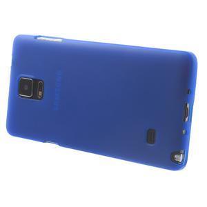 Gelové pouzdro na Samsung Galaxy Note 4- modré - 3