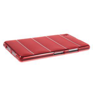 Gelové Body pouzdro na Sony Xperia Z1 C6903 - červené - 3