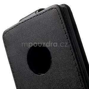 Flipové pouzdro na Nokia Lumia 830 - černé - 3