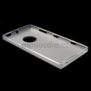 Gelové matné pouzdro na Nokia Lumia 830 - transparentní - 3