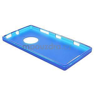 Gelové matné pouzdro na Nokia Lumia 830 - modré - 3