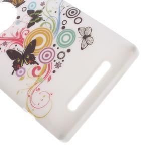 Gelové pouzdro na Nokia Lumia 830 - motýlci - 3