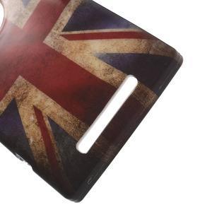 Gelové pouzdro na Nokia Lumia 830 - UK vlajka - 3