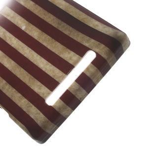 Gelové pouzdro na Nokia Lumia 830 - USA vlajka - 3
