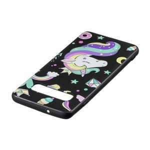 Printy gelový obal na mobil Samsung Galaxy S10 - jednorožec a sladkosti - 3