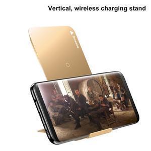 Coils bezdrátová nabíječka pro mobilní telefony - zlatá - 3