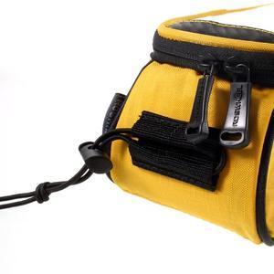 Prostorná brašna na kolo pro mobilní telefony do rozměru 158,1 x 78 x 7,1 mm - žlutá - 3