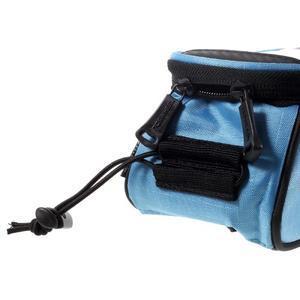 Prostorná brašna na kolo pro mobilní telefony do rozměru 158,1 x 78 x 7,1 mm - modrá - 3