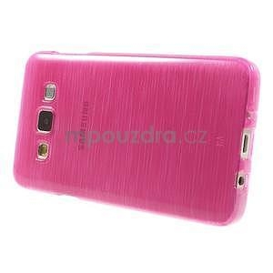 Broušené pouzdro na Samsung Galaxy A3 - rose - 3