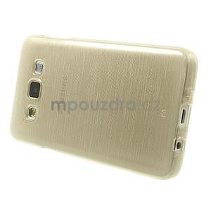 Broušené pouzdro na Samsung Galaxy A3 - zlatá - 3