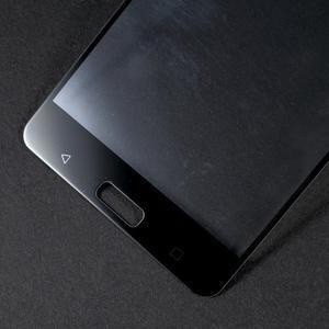 Celoplošné fixační tvrzené sklo na Nokia 6 - černý lem - 3