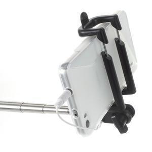 D9X automatická selfie tyč se spínačem - černá - 3