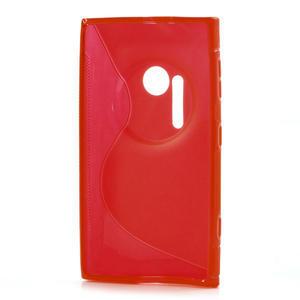 Gelové S-line pouzdro pro Nokia Lumia 1020- červené - 3