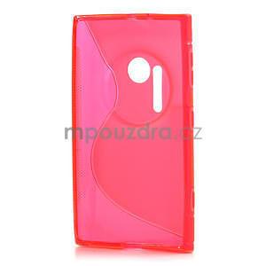 Gelové S-line pouzdro pro Nokia Lumia 1020- růžové - 3
