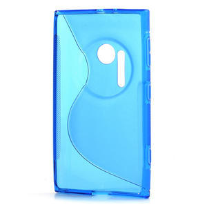 Gelové S-line pouzdro pro Nokia Lumia 1020- modré - 3