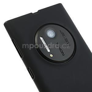 Gelové matné pouzdro pro Nokia Lumia 1020- černé - 3