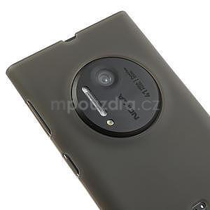Gelové matné pouzdro pro Nokia Lumia 1020- šedé - 3