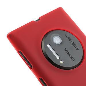Gelové matné pouzdro pro Nokia Lumia 1020- červené - 3