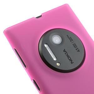 Gelové matné pouzdro pro Nokia Lumia 1020- růžové - 3