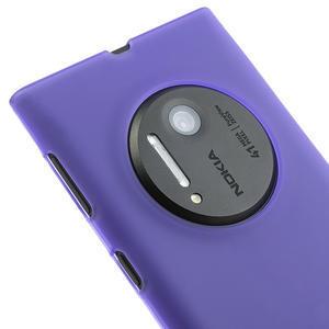 Gelové matné pouzdro pro Nokia Lumia 1020- fialové - 3