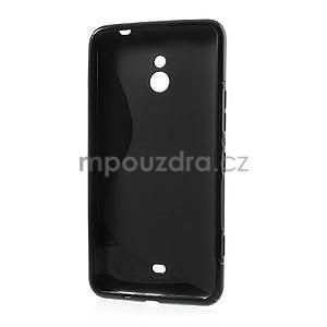 Gelové S-line pouzdro pro Nokia Lumia 1320- černé - 3