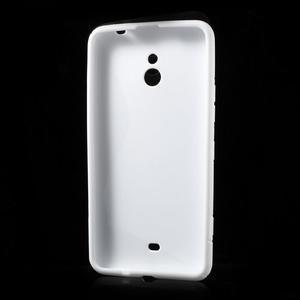 Gelové S-line pouzdro pro Nokia Lumia 1320- bílé - 3