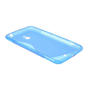Gelové S-line pouzdro pro Nokia Lumia 1320- modré - 3