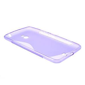 Gelové S-line pouzdro pro Nokia Lumia 1320- fialové - 3