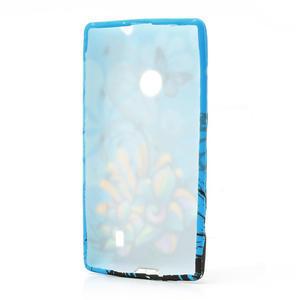 Gelové pouzdro na Nokia Lumia 520- motýl - 3