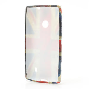 Gelové pouzdro na Nokia Lumia 520- vlajka - 3