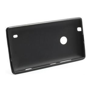 Gelové PUNTÍK pouzdro na Nokia Lumia 520- černé - 3