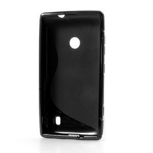 Gelové S-line pouzdro na Nokia Lumia 520- černé - 3