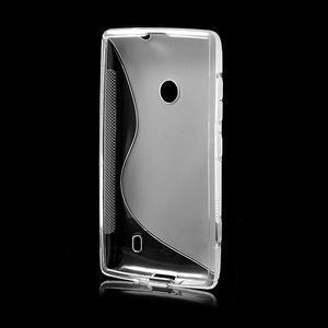 Gelové S-line pouzdro na Nokia Lumia 520- transparentní - 3