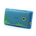 Gelové S-line pouzdro na Nokia Lumia 520- modré - 3/6