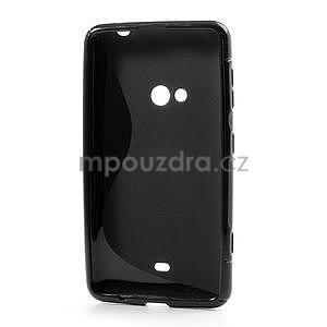 Gelové S-line pouzdro pro Nokia Lumia 625- černé - 3