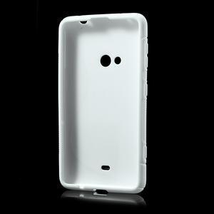 Gelové S-line pouzdro pro Nokia Lumia 625- bílé - 3