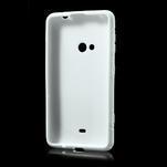 Gelové S-line pouzdro pro Nokia Lumia 625- bílé - 3/7