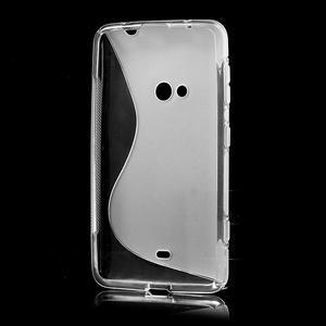 Gelové S-line pouzdro pro Nokia Lumia 625- transparentní - 3