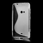 Gelové S-line pouzdro pro Nokia Lumia 625- transparentní - 3/7