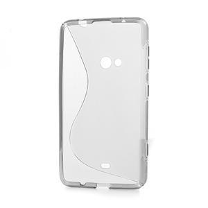 Gelové S-line pouzdro pro Nokia Lumia 625- šedé - 3