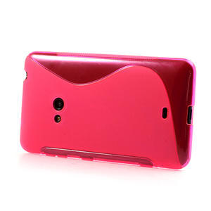 Gelové S-line pouzdro pro Nokia Lumia 625- růžové - 3